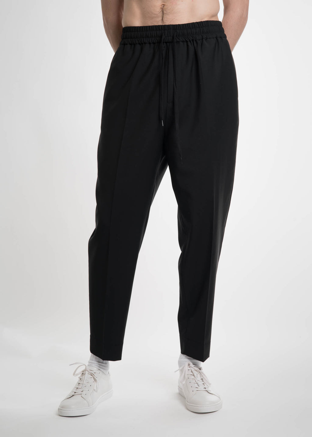 Black Jalousie Trousers