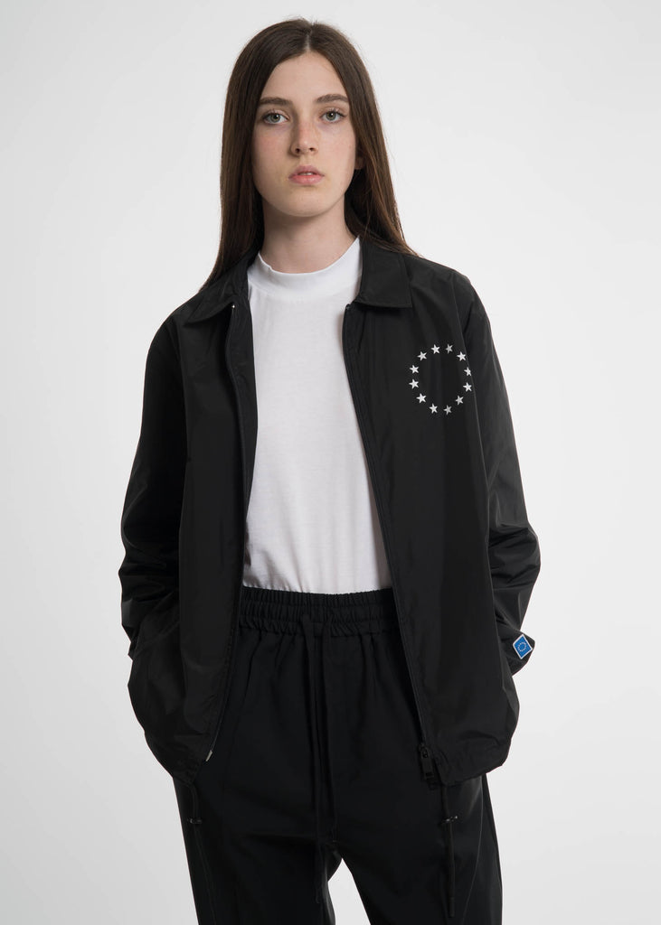 Etudes, Black League Coach Jacket, 017 Shop