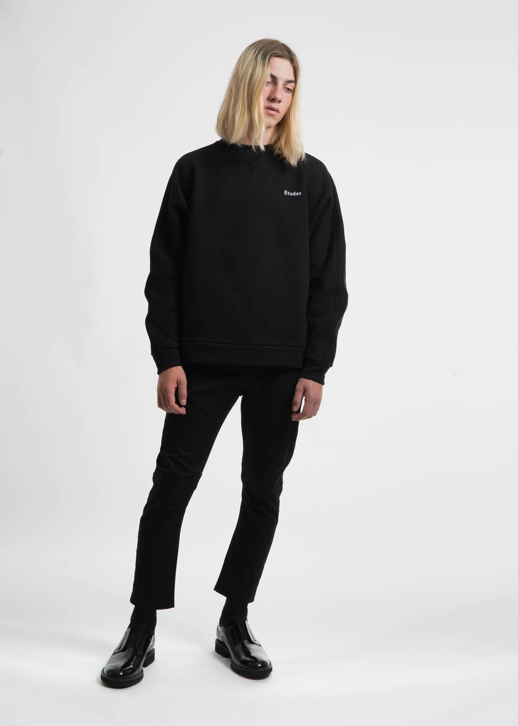 Black Maybe Fleece Crewneck