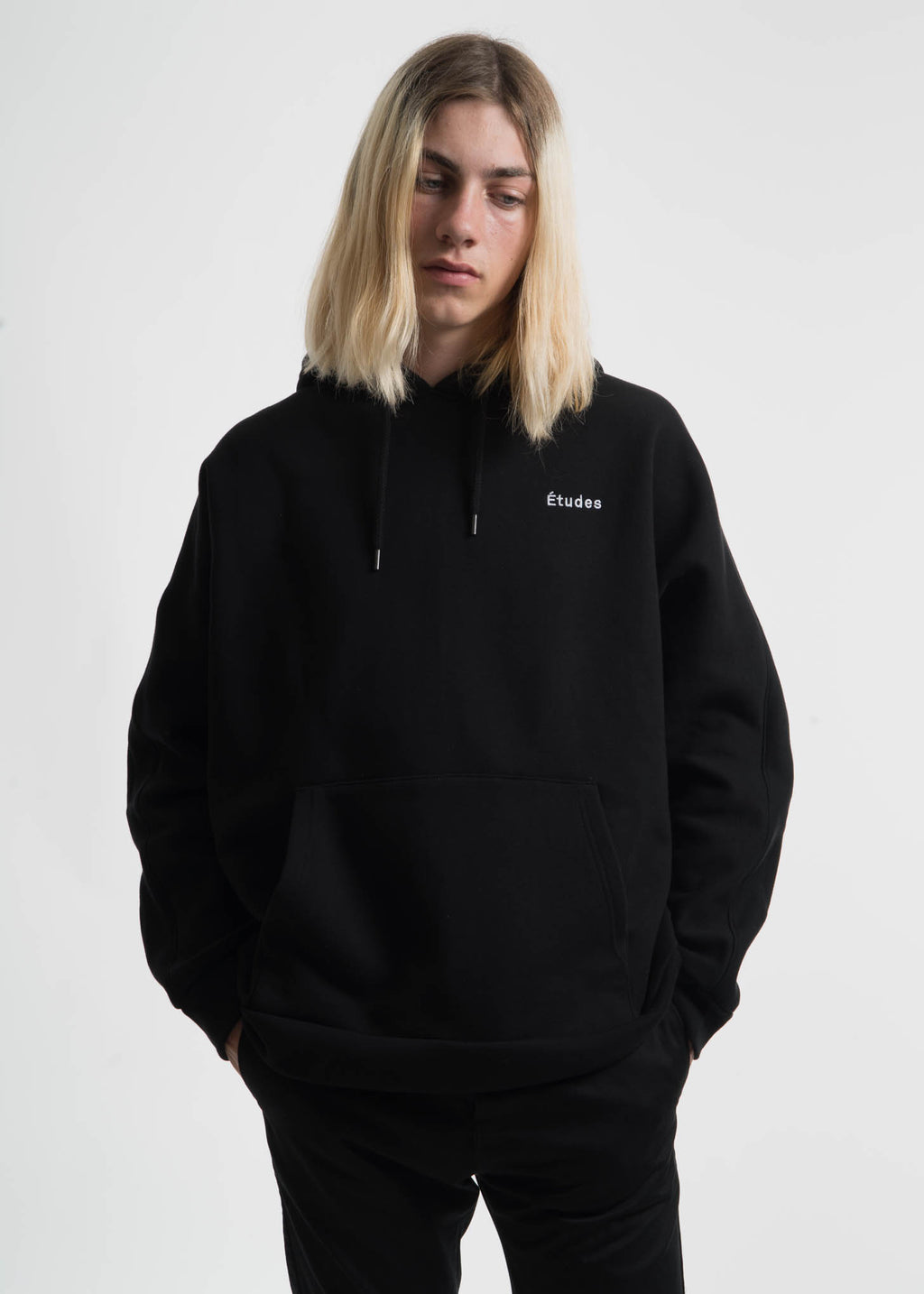 Black Maybe Fleece Hoodie