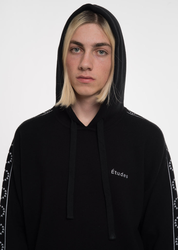 Black Time-Out Hoodie