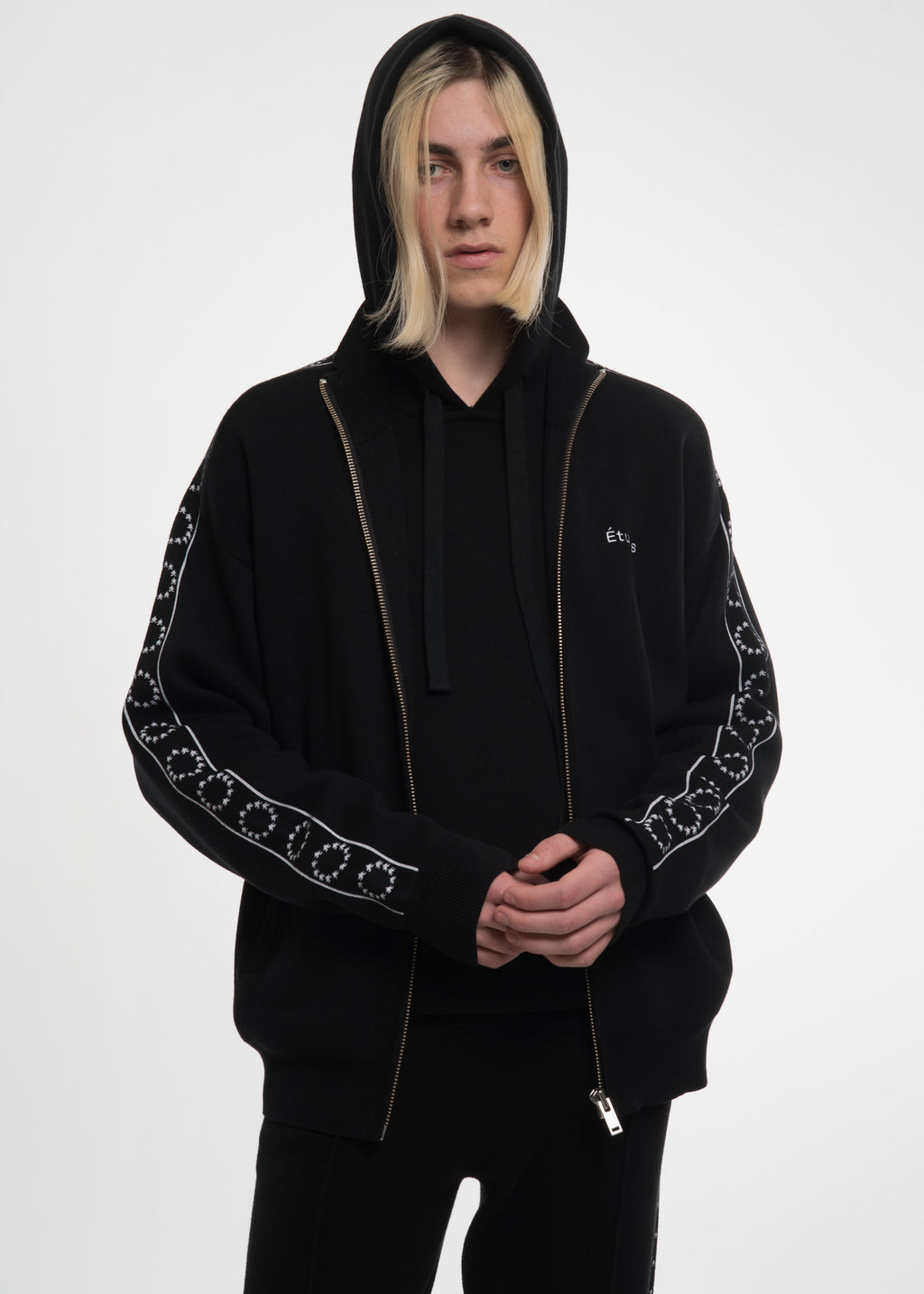 Black Time-Out Track Jacket