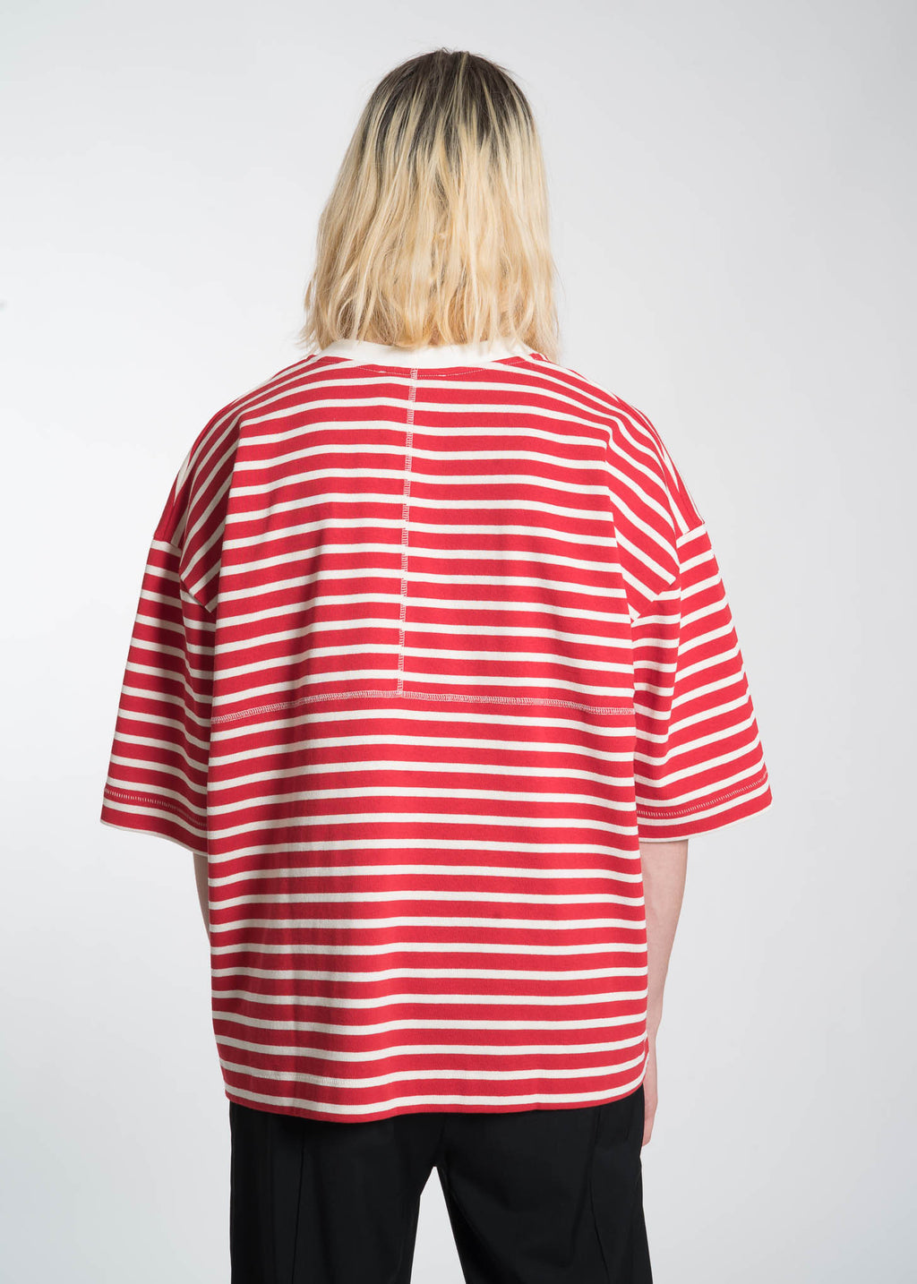 Etudes, Red Desert Striped T-Shirt, 017 Shop