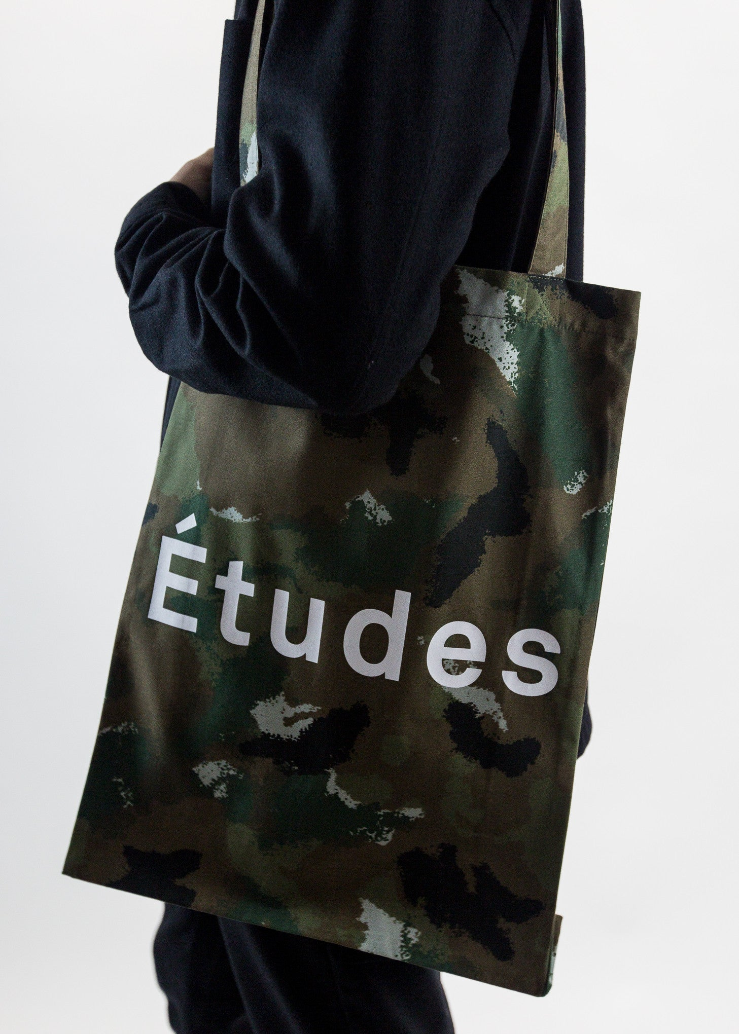 October Camouflage Tote Bag