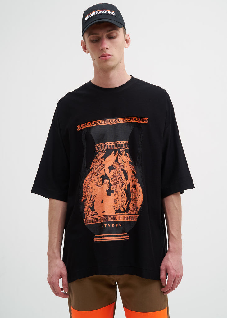 Orange Desert Acropolis T-Shirt