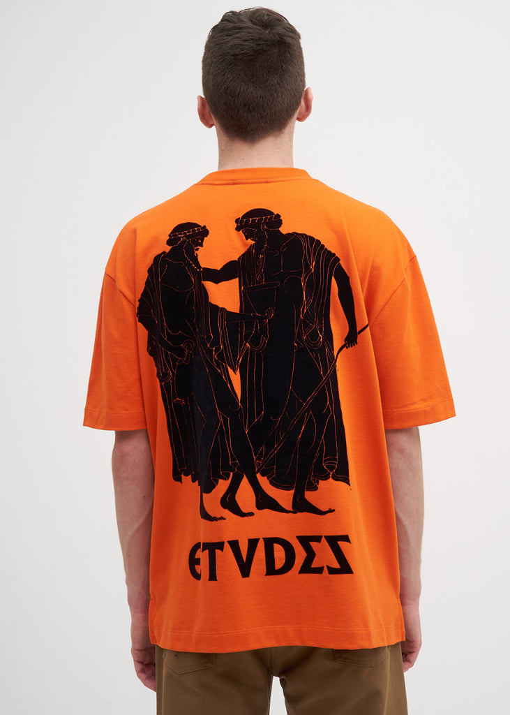 Etudes, Orange Museum T-Shirt, 017 Shop
