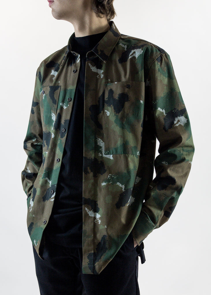 Record Camouflage Shirt