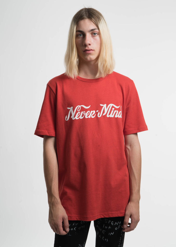 Etudes, Red Unity Nevermind T-Shirt, 017 Shop