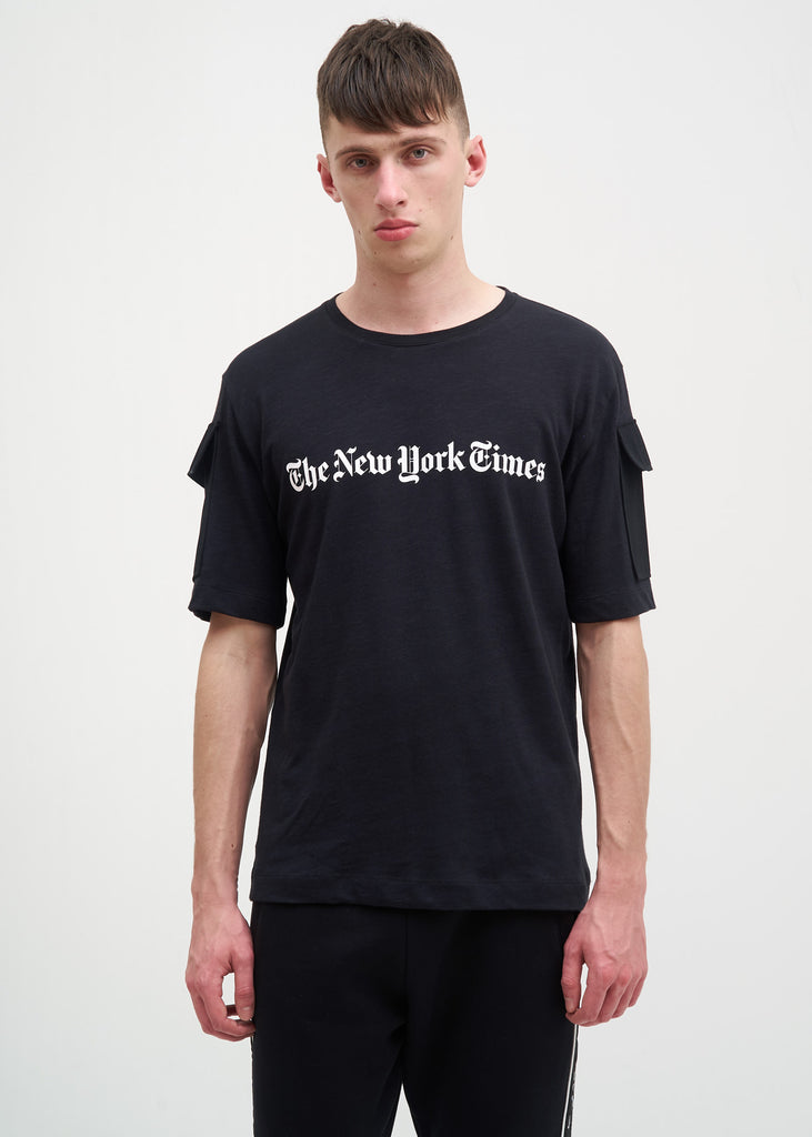 Etudes, The New York Times Edition Black Unity T-Shirt, 017 Shop