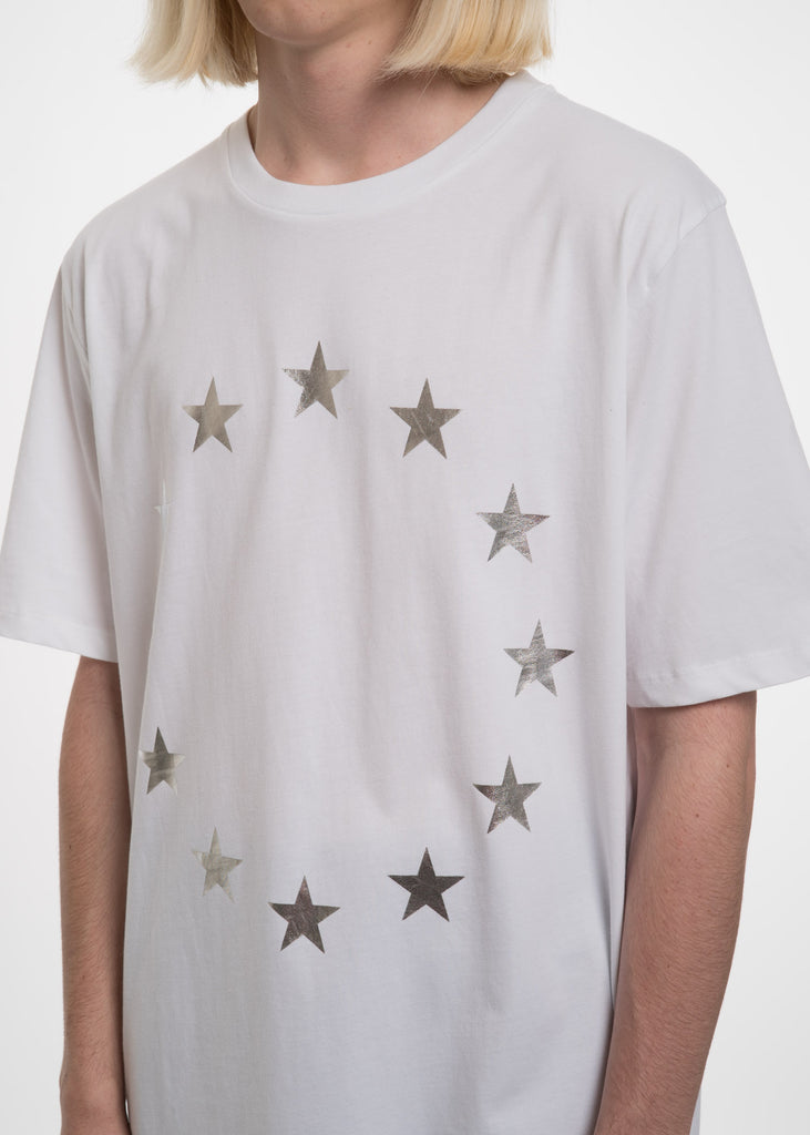 Etudes, White Page Europa T-Shirt, 017 Shop