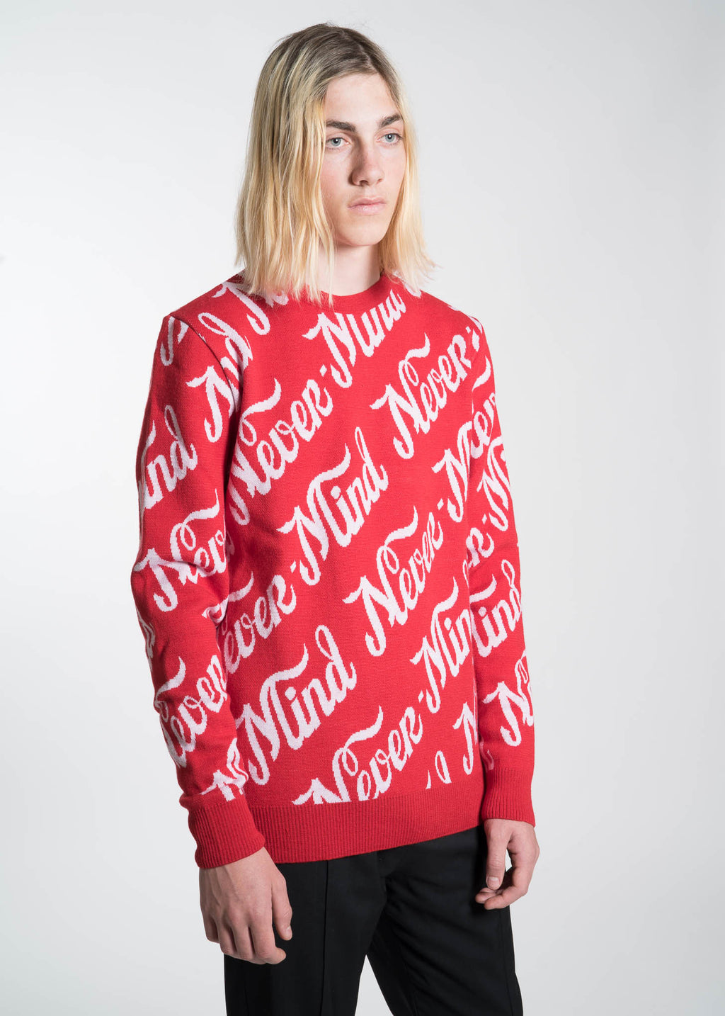 Etudes, Red Mike Nevermind Knit Sweater, 017 Shop