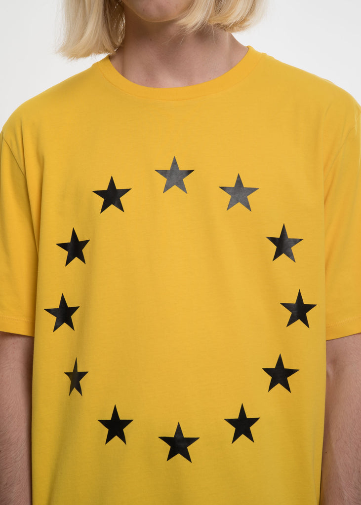 Etudes, Yellow Page Europa T-Shirt, 017 Shop