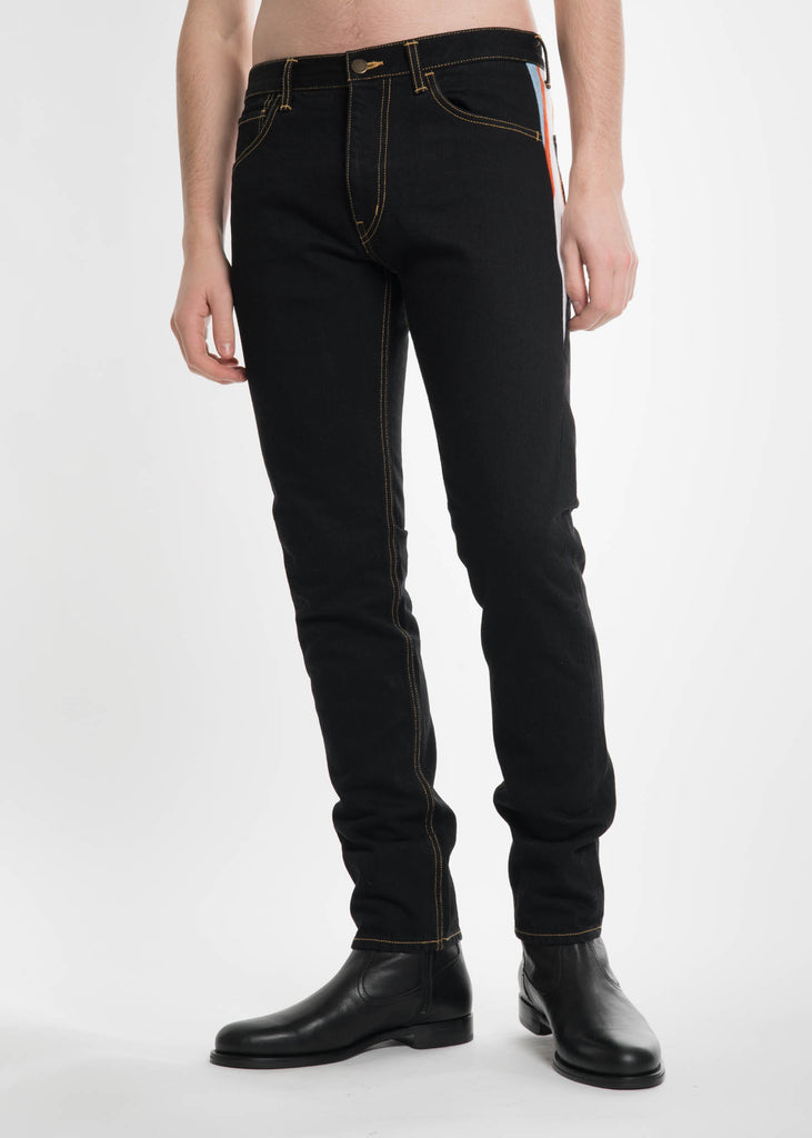 Facetasm, Black Rib Denim, 017 Shop