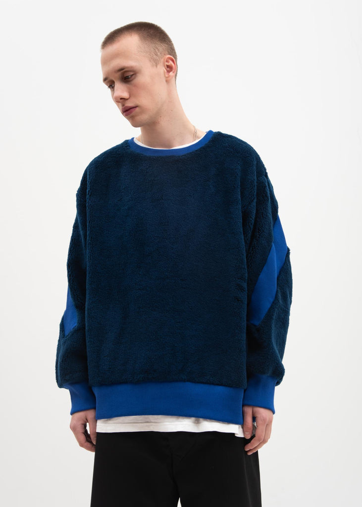 Blue Fleece Sweater