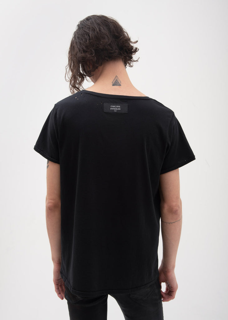 Garcons Infideles, Black Death Rock T-Shirt, 017 Shop