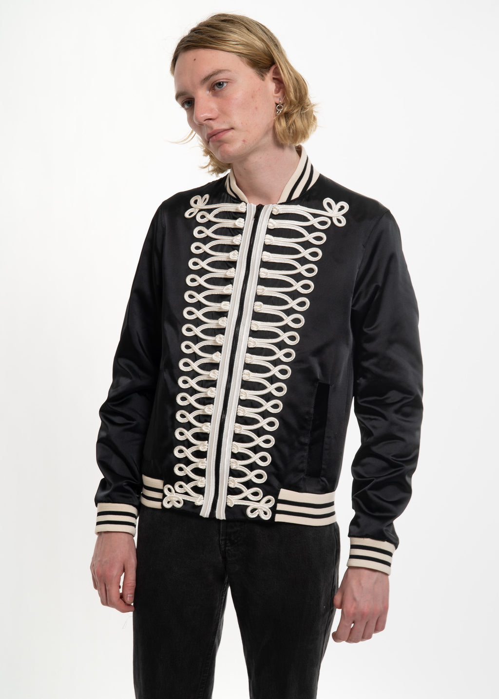 Black Jackson Teddy Jacket