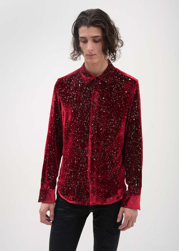 Garcons Infideles, Red Lenny Shirt, 017 Shop