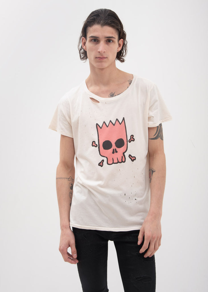 White Bart T-Shirt
