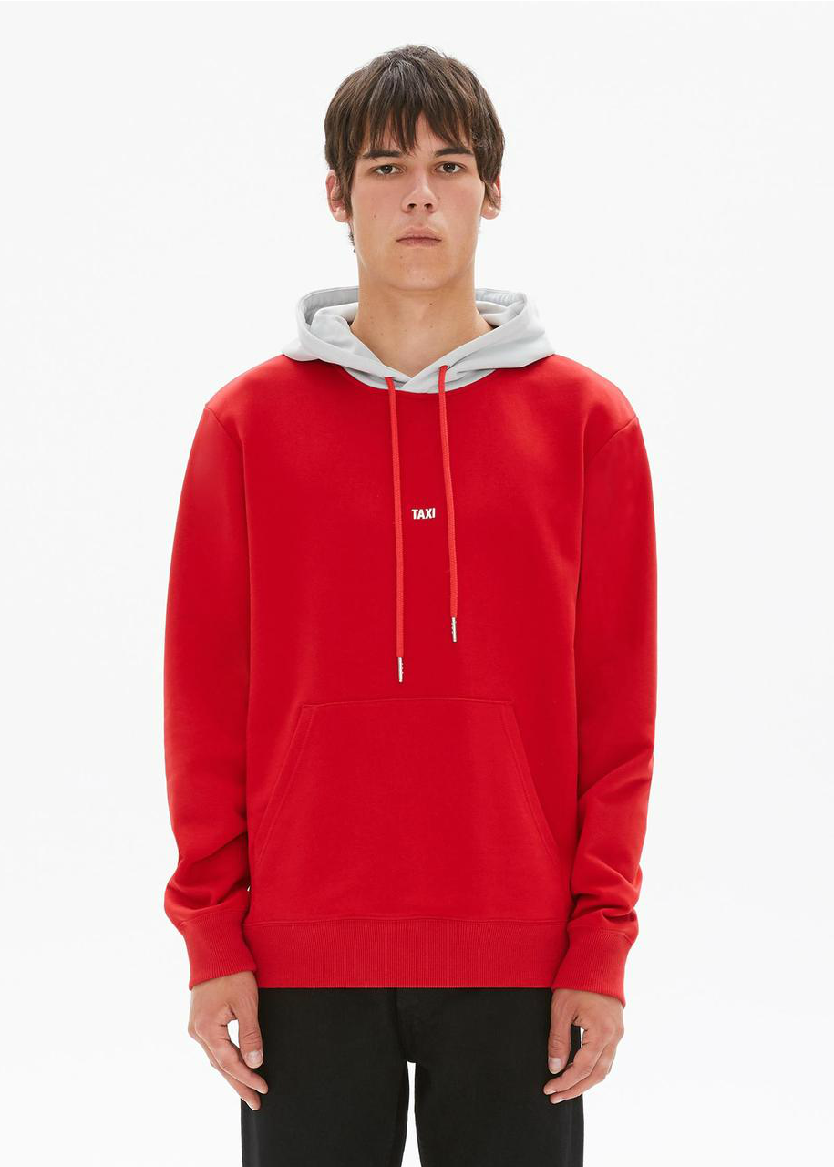Red and Silver Taxi Hoodie (Hong Kong)