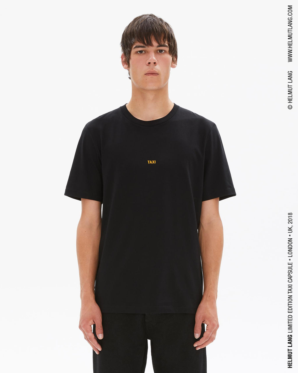 Helmut Lang, Black Taxi T-Shirt (London), 017 Shop