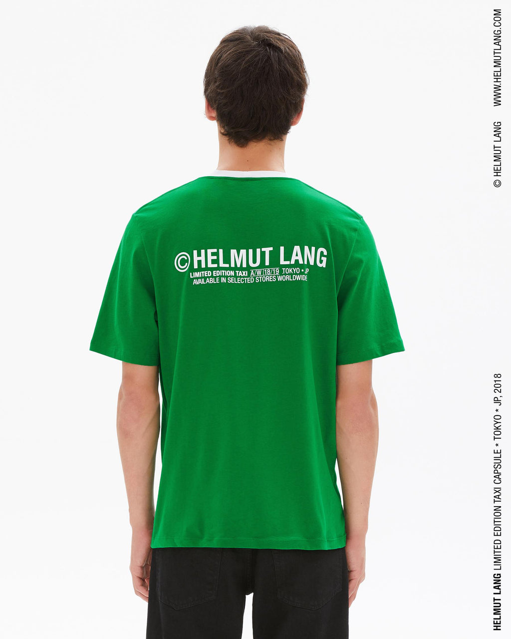 Green and White Taxi T-Shirt (Tokyo)