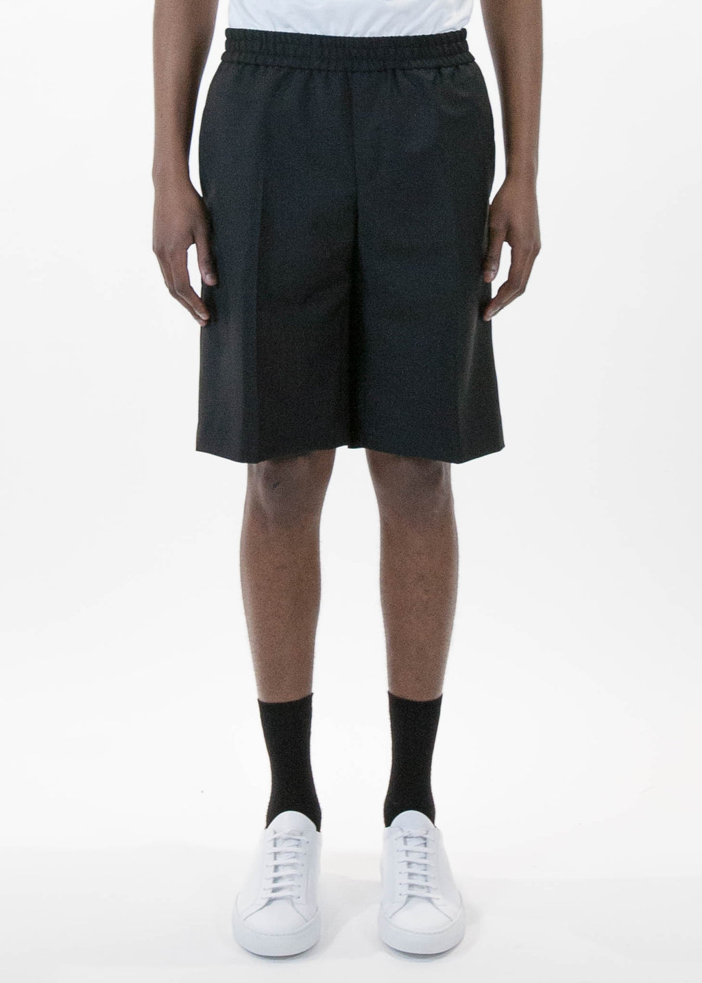 Black Pavel Shorts