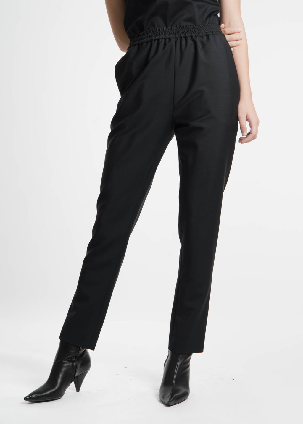 Harmony, Black Plume Trousers , 017 Shop