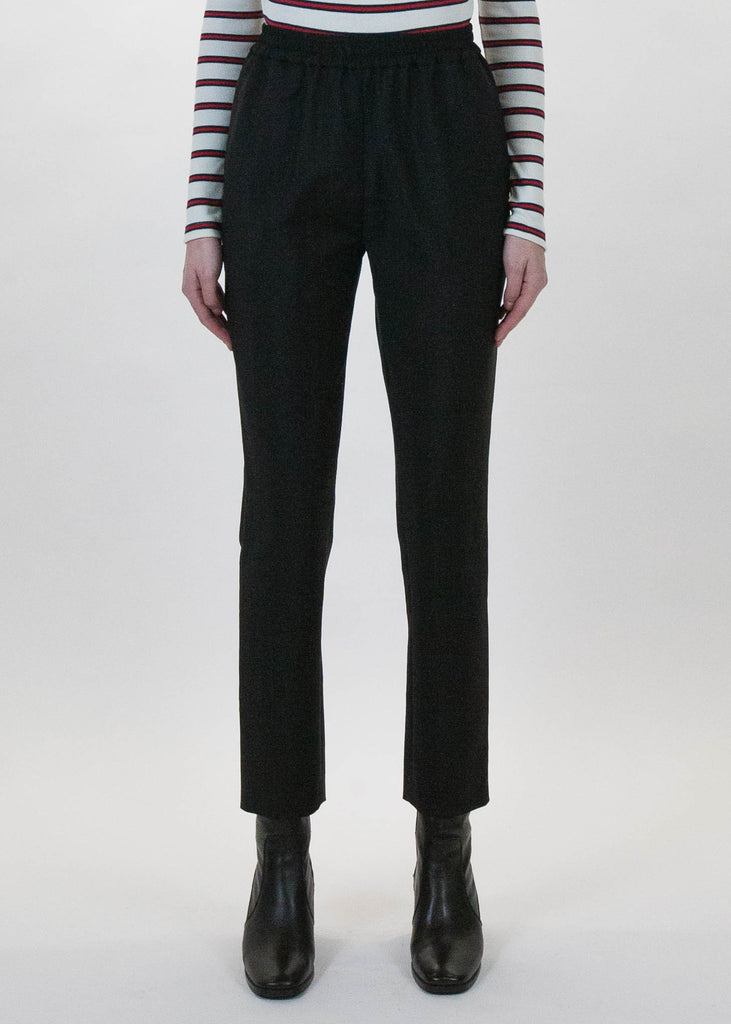 Black Plume Trousers