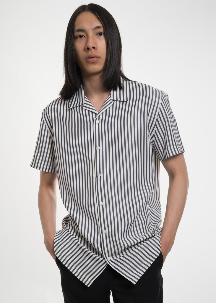 Blue Striped Christophe Shirt