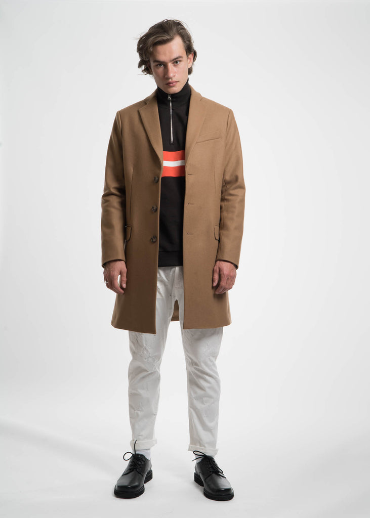 Harmony, Camel Magnus Wool Coat, 017 Shop