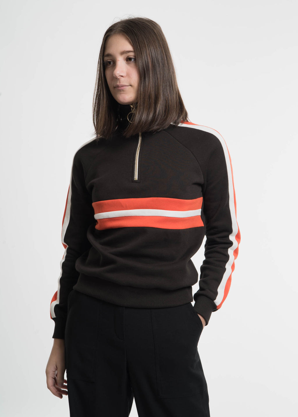 Dark Brown Sidonie Sweatshirt