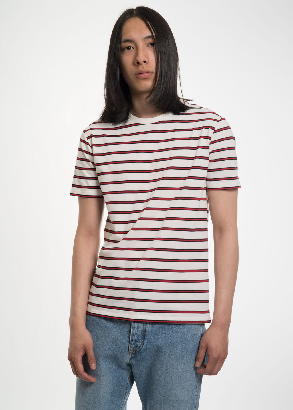 Ecru Striped Toni T-Shirt