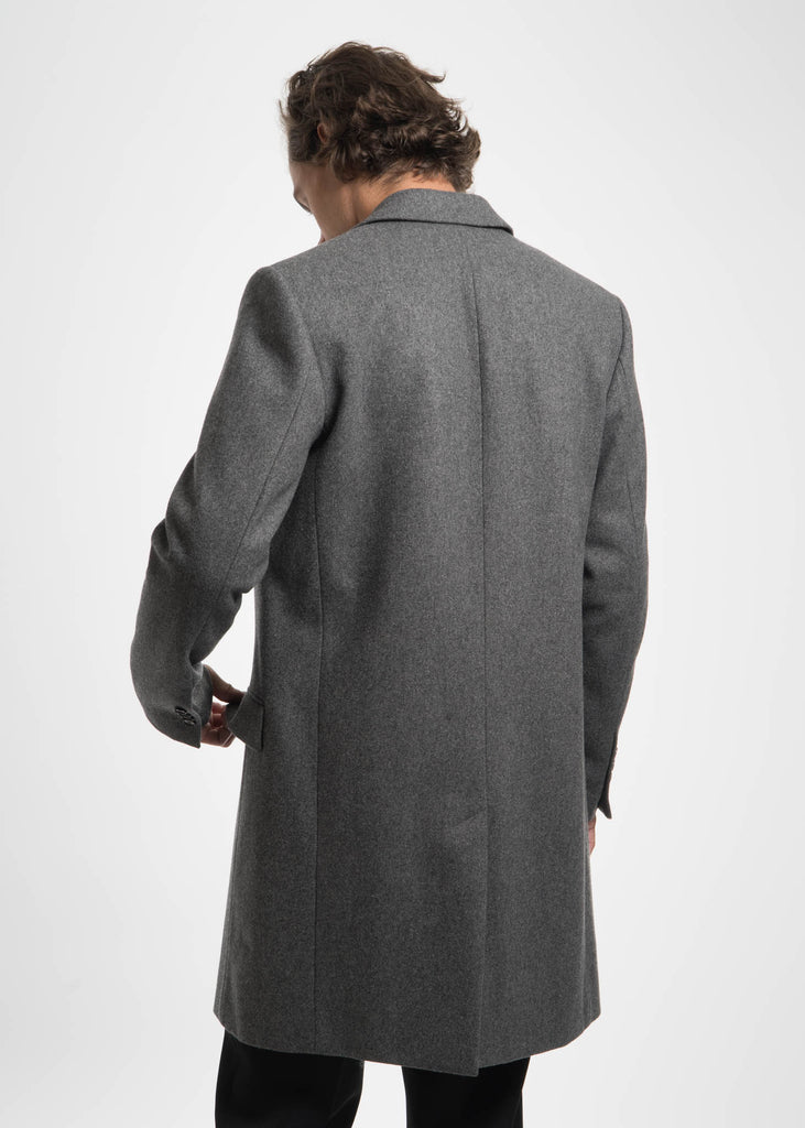 Harmony, Grey Magnus Wool Coat, 017 Shop
