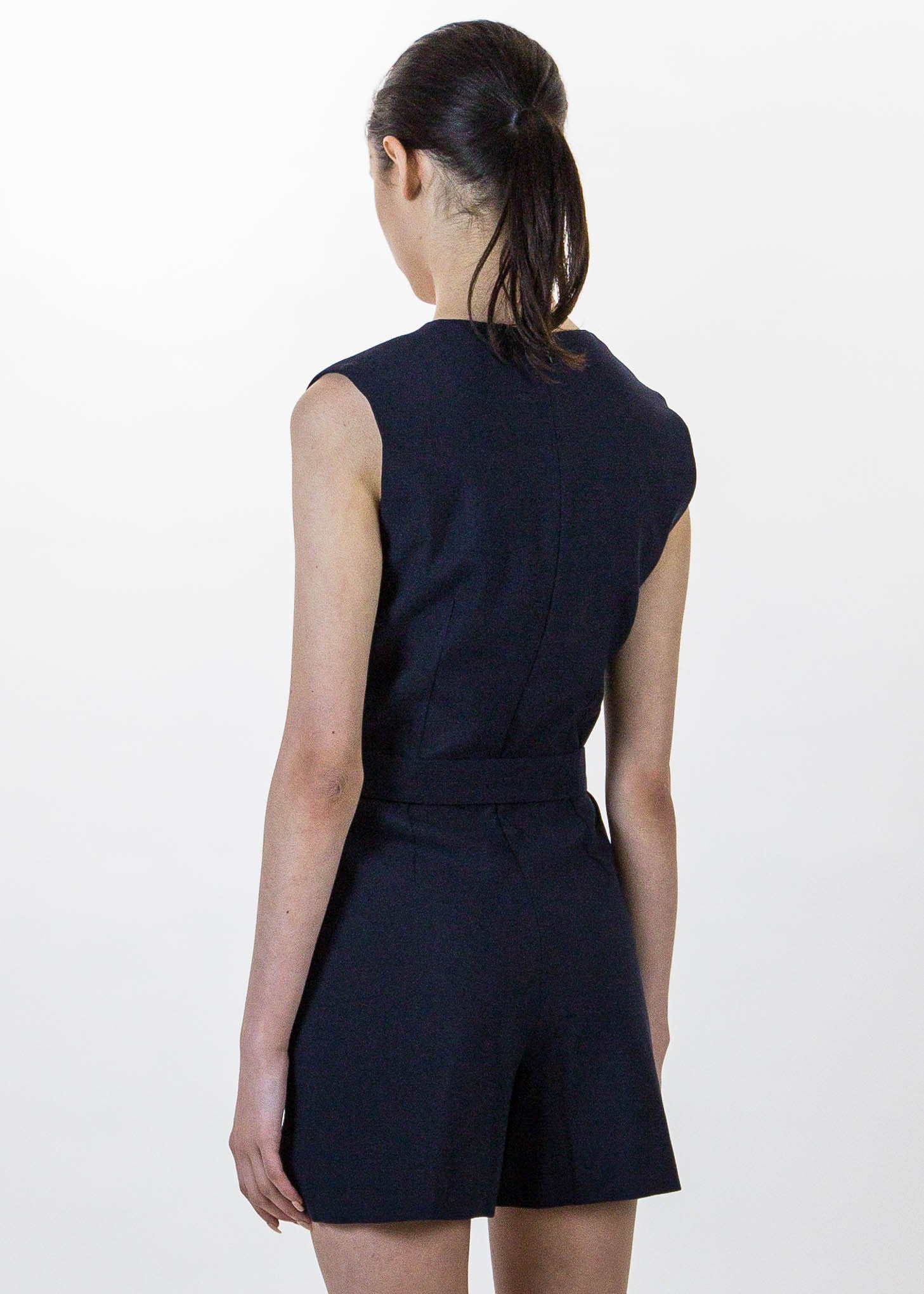 Navy Povia Jumpsuit
