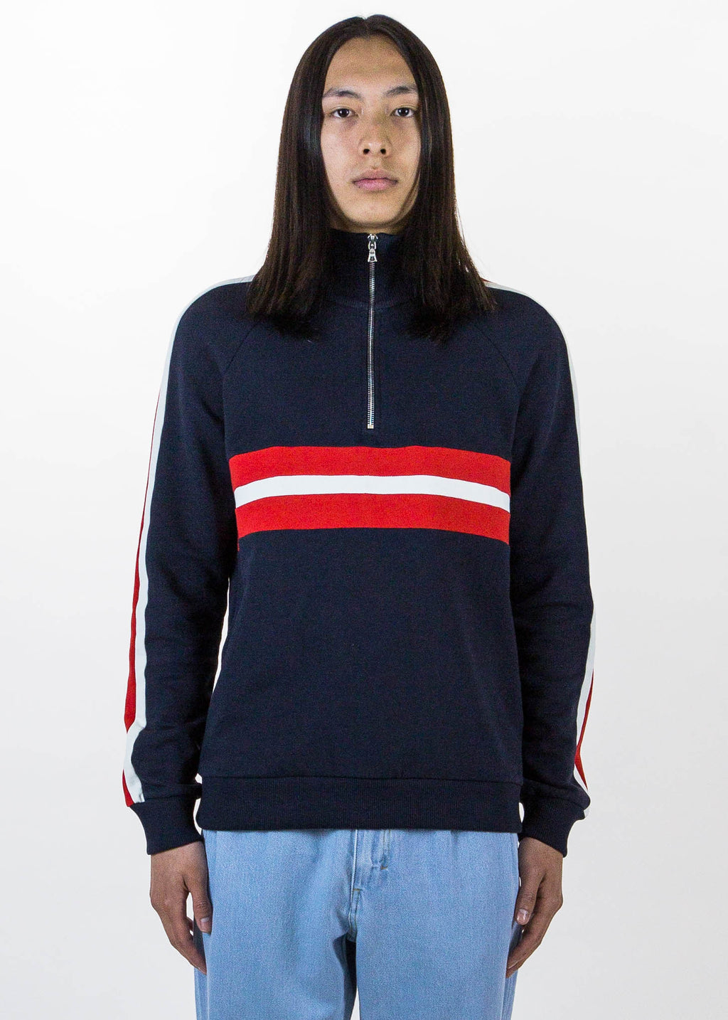 Harmony, Navy Sofian Sweatshirt, 017 Shop