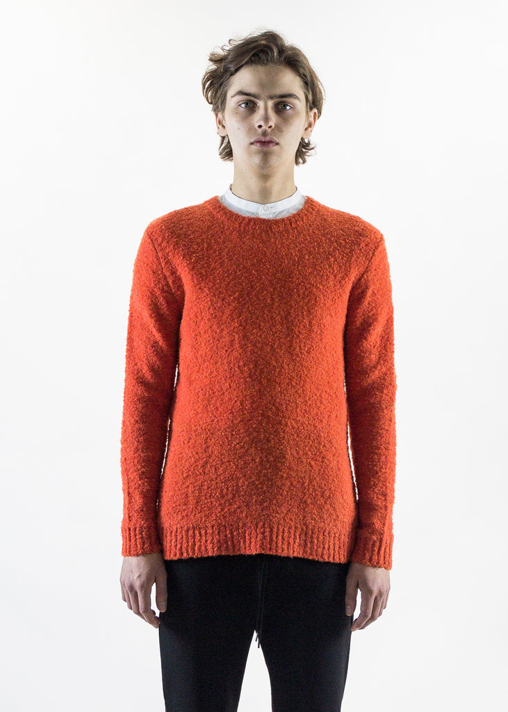 Orange Willie Knitted Sweater