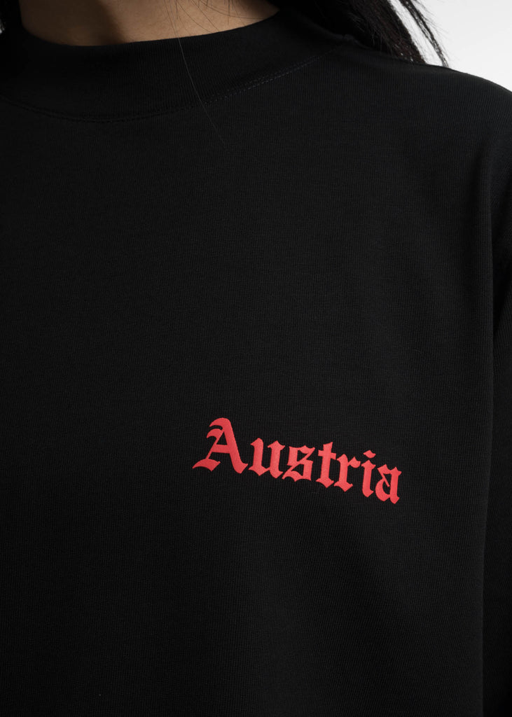 Black Austria Tall Tee