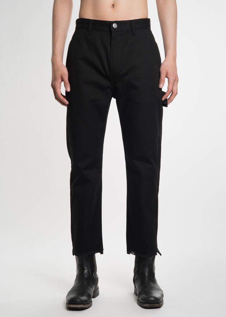 Helmut Lang, Black Carpenter Pants, 017 Shop