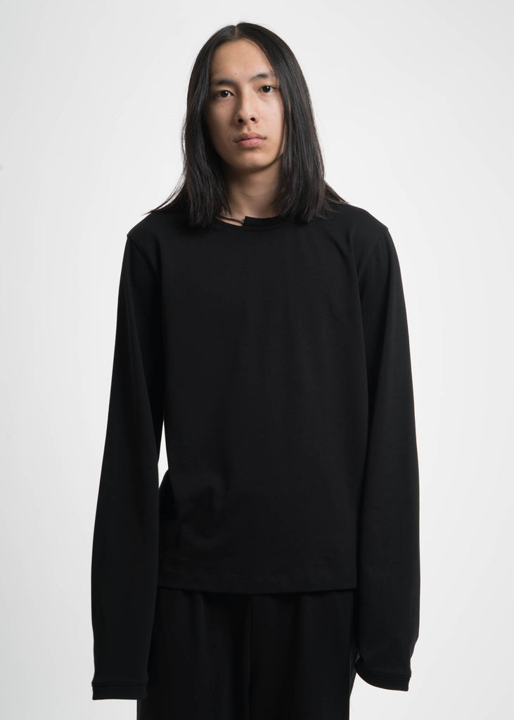 Black Necklace Crewneck