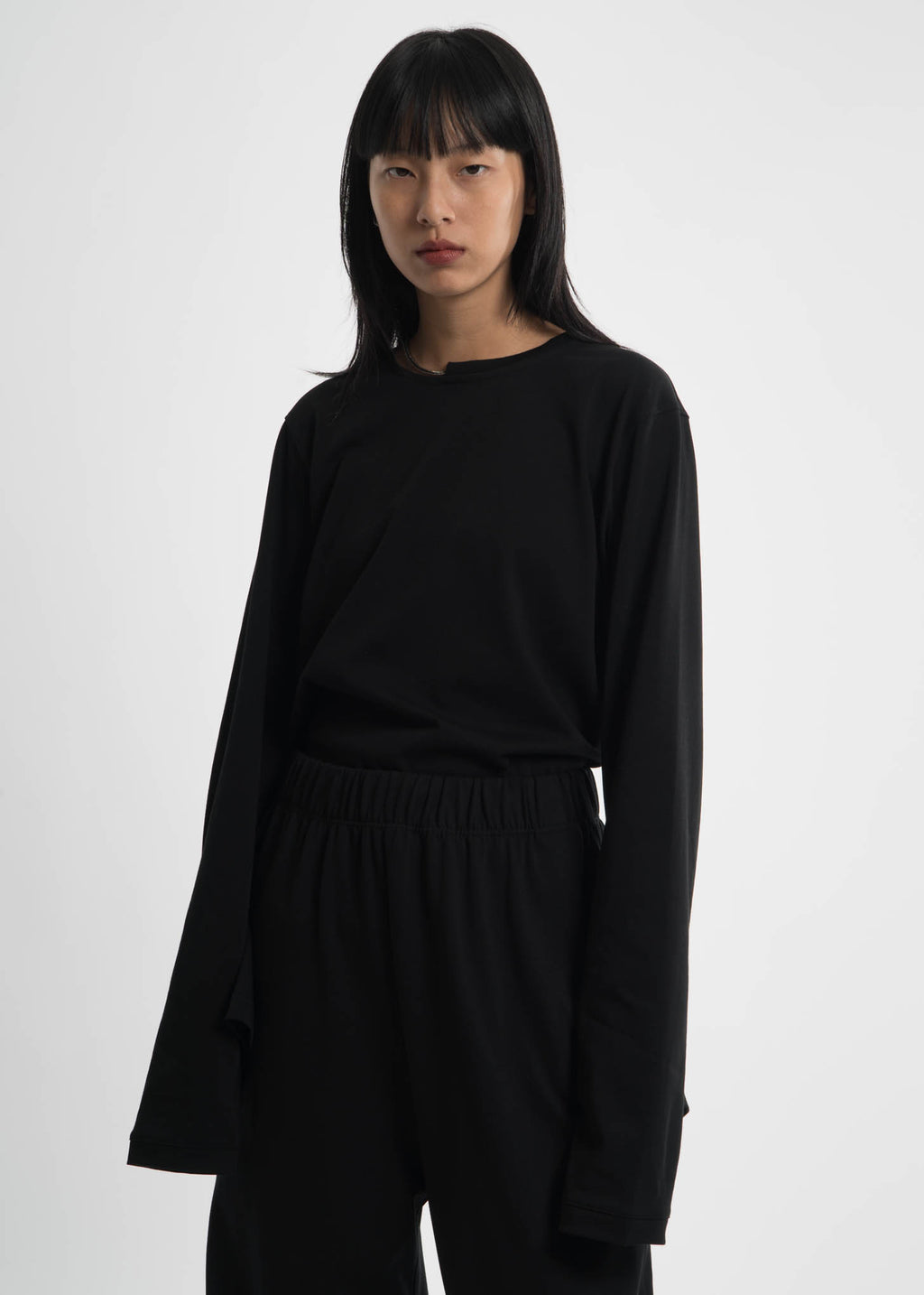 Helmut Lang, Black Necklace Crewneck, 017 Shop