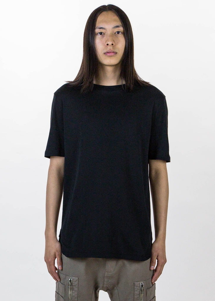 Black SS Tee Brushed Jersey