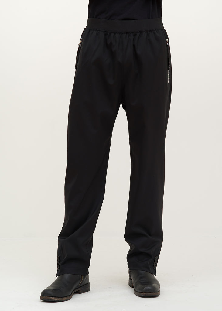 Black Suiting Trackpant