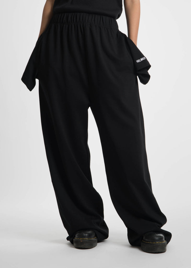Black T-Shirt Sweatpants