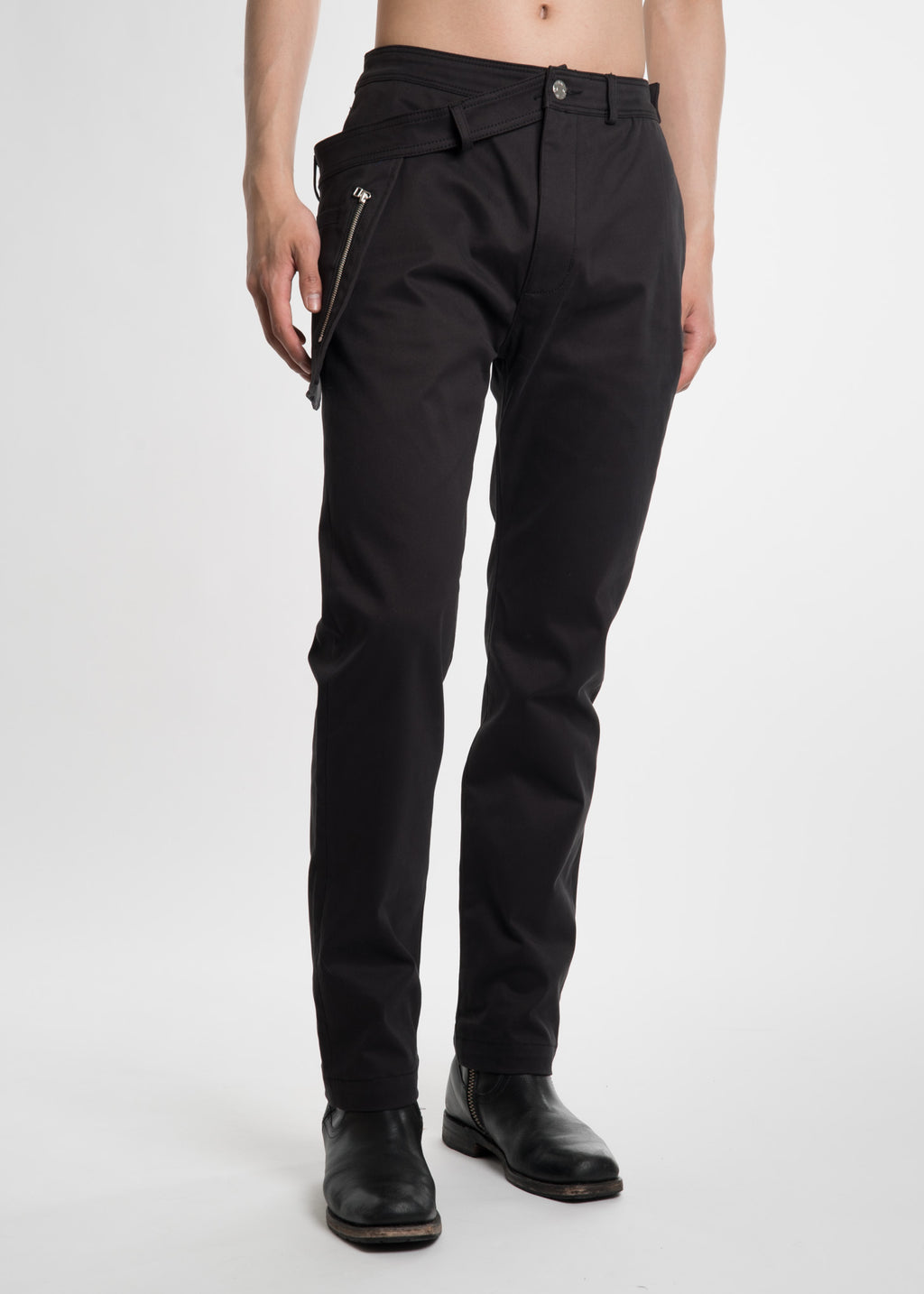 Black WB Pocket Pant