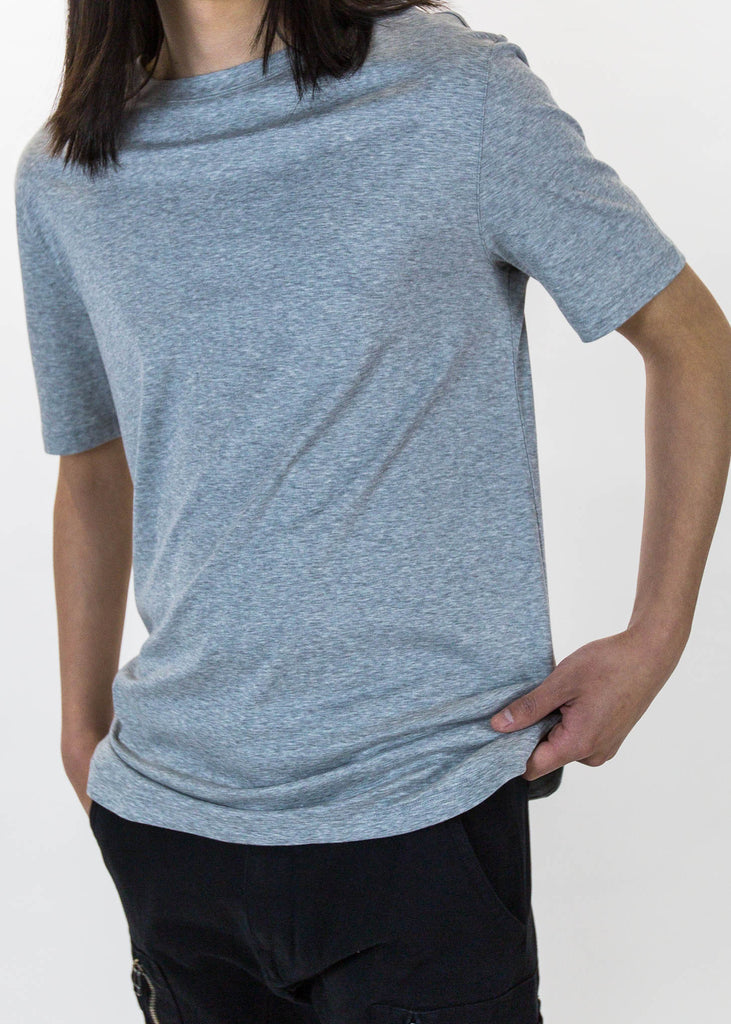 Grey SS Tee Brushed Jersey
