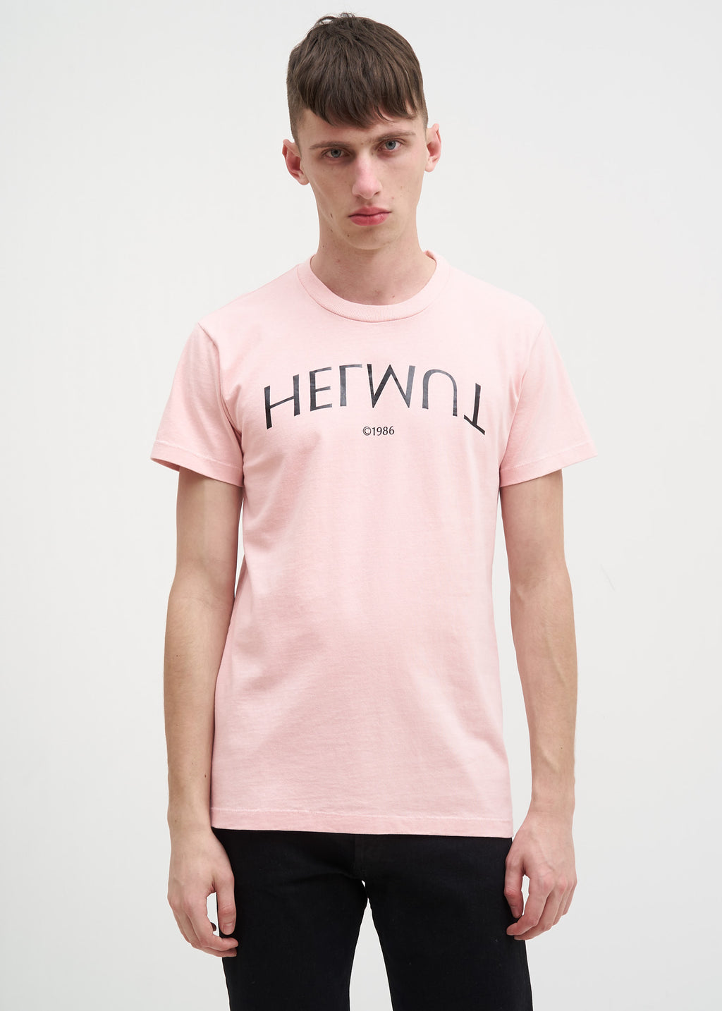 Rose Helmut Logo Hack Little Tee