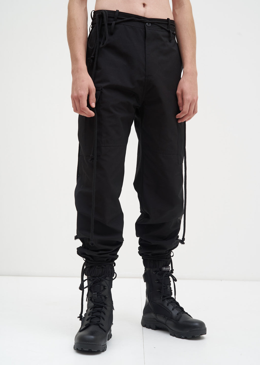 Black Fatal Cargo Pants