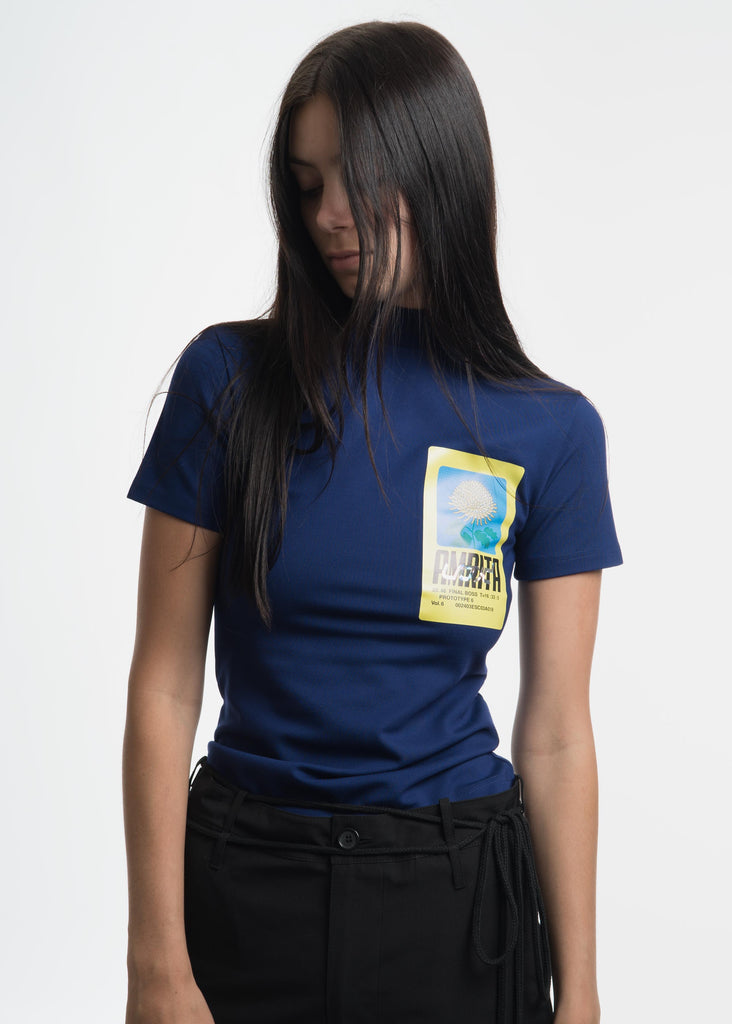 "Hyein Seo, Blue ""Void"" T-Shirt, 017 Shop"