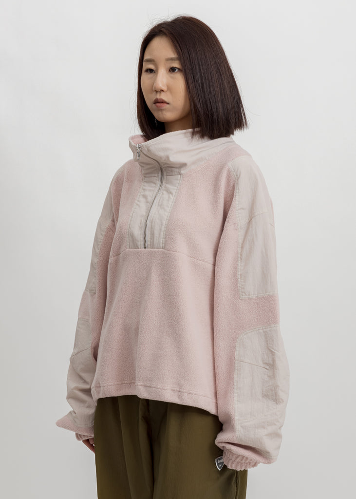 Pink Mathis Pullover Jacket