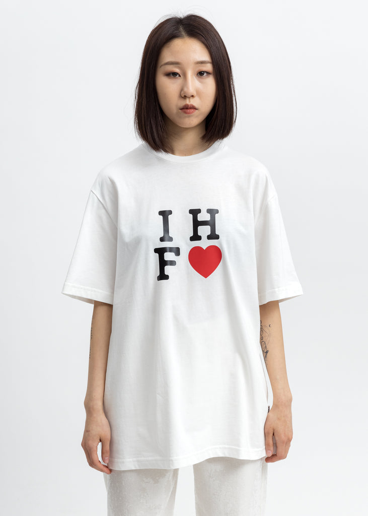 White IHF Logo T-Shirt